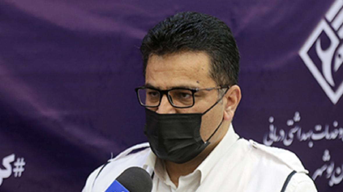 اگر همه ماسک بزنند انتقال کرونا 95 درصد کاهش می یابد، افزایش بیماران بستری در بوشهر