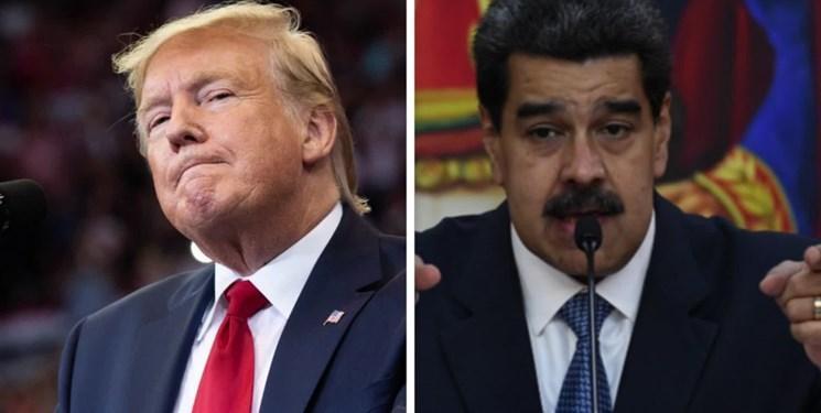 ترامپ: تنها برای خروج مسالمت آمیز از قدرت با مادورو دیدار می کنم
