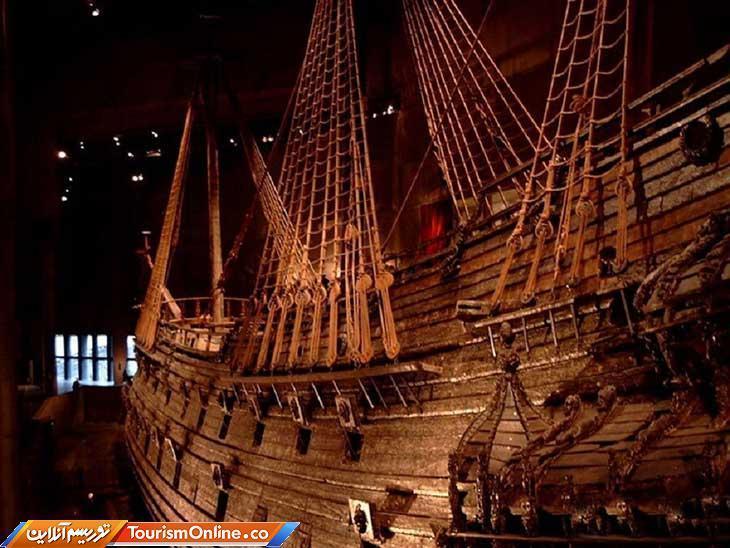 یک کشتی جنگی قرن هفدهمی از دریای یخی بالتیک بیرون کشیده شد!، تصاویر