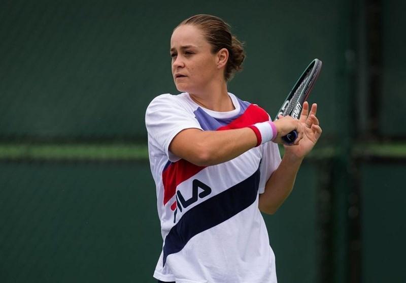 اشلی بارتی : به دلیل ترس از کرونا در تنیس آزاد آمریکا شرکت نمی کنم