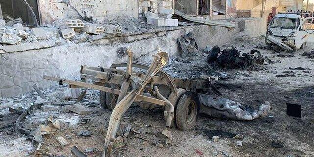 انفجار خودروی بمب گذاری شده در حومه رقه سوریه