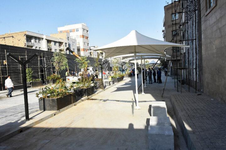 بزرگترین میدانگاه شهری تهران به بهره برداری می رسد ، 3 محله پایتخت به هم وصل می شوند