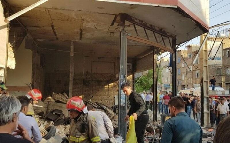 انفجار در نسیم شهر، خسارت به 30 ساختمان و 23 خودرو وارد شد