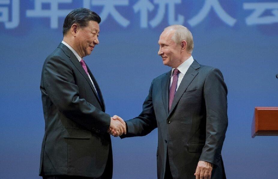 رئیس جمهور چین:پکن و مسکو وظیفه مهمی دارند، پوتین: از بروز هر جنگی جلوگیری می کنیم