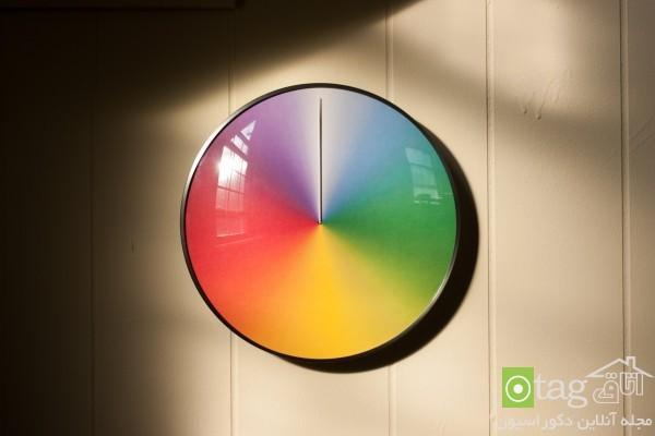 مدل ساعت دیواری جدید و مدرن با طراحی خلاقانه و بسیار شیک