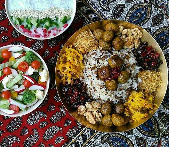 طرز تهیه قنبرپلو شیرازی به روش سنتی و آسان