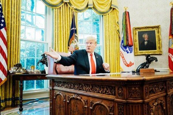 دیدار ترامپ با جمهوریخواهان کنگره به امید تغییر نتایج انتخابات