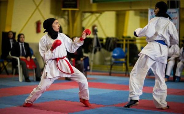 اردونشینان کاراته زنان ایران معرفی شدند