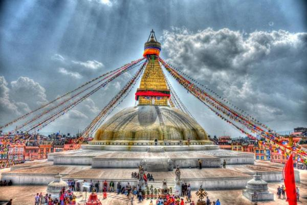 استوپای بودانات، عظیم ترین معبد بودایی نپال، عکس