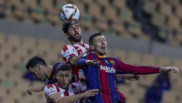 بارسلونا 2 - 3 بیلبائو؛ شکست با اخراج عجیبمسی
