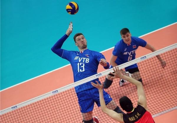 روسیه به دنبال میزبانی لیگ ملت های والیبال