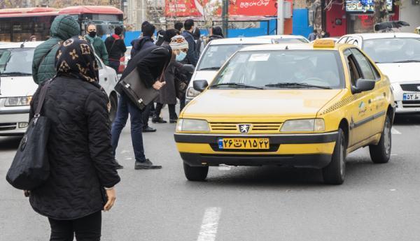 معاینه فنی تاکسی های پایتخت در سال 1400 رایگان شد