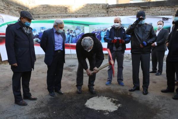 شهردار تهران کلنگ ساخت همراه سرای بیمارستان امام را به زمین زد