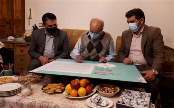سعید پورصمیمی پیام روز ملی هنرهای نمایشی را امضاء کرد