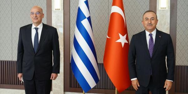 وزرای خارجه یونان و ترکیه بر لزوم کاهش تنش ها تأکید کردند