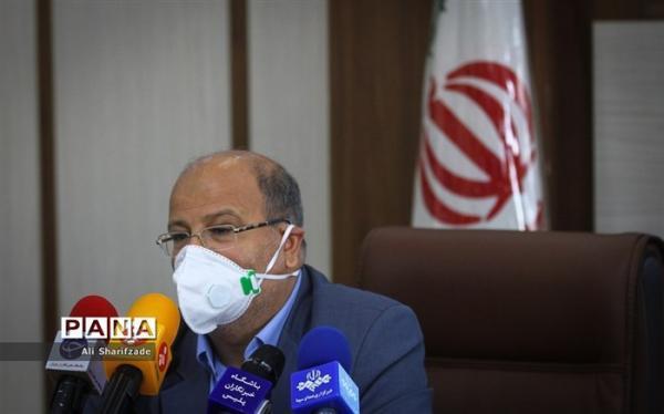 هشدار زالی درباره شرایط کرونایی تهران
