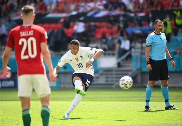 یورو 2020، فرانسه در استادیوم لبریز از تماشاگر، حریف مجارستان نشد