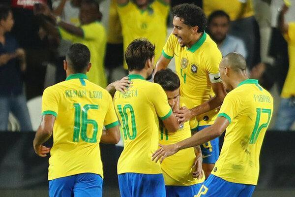 صعود تیم ملی برزیل به فینال با شکست پرو