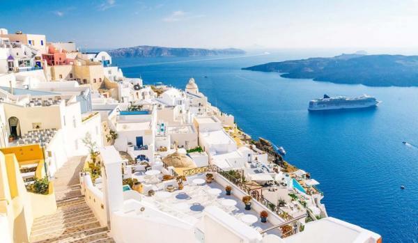 نگاهی به سانتورینی، جزیره سفیدپوش یونان در اروپا