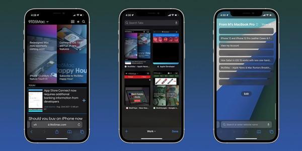 ویژگی های نو مرورگر سافاری در iOS 15 چگونه کار می نمایند