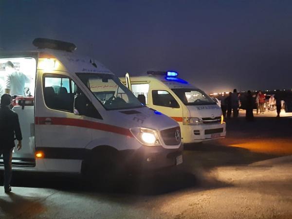 تصادف زنجیره ای در محور آبادان به اهواز 10 مصدوم برجای گذاشت